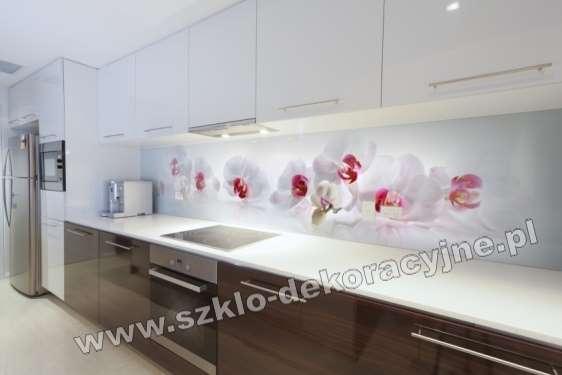 Zaawansowane Panele szklane Lacobel, hartowane szyby do kuchni - Szklo ZF75